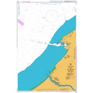 British Admiralty Nautical Chart 1748 Bintulu and Pelabuhan Bintulu