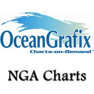 NGA (Formerly DMA, NIMA) Nautical Charts