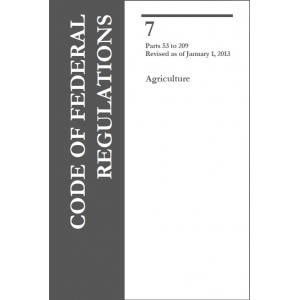 Code of Federal Regulations (CFR)