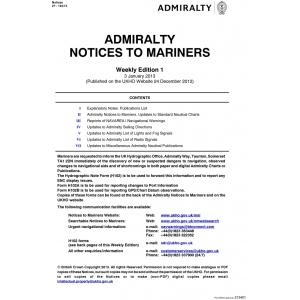 BA & US Notices to Mariners