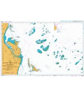 British Admiralty Australian Nautical Chart AUS828 Palm Isles to Brook Islands and Palm Passage