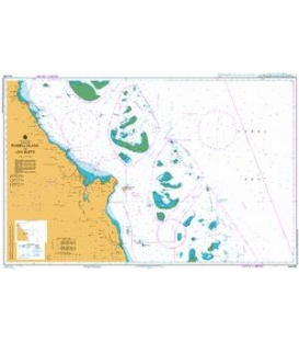 British Admiralty Australian Nautical Chart AUS830 Russell Island to Low Islets