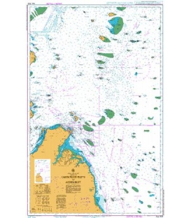 British Admiralty Australian Nautical Chart AUS 839 Cairncross Islets to Arden Island