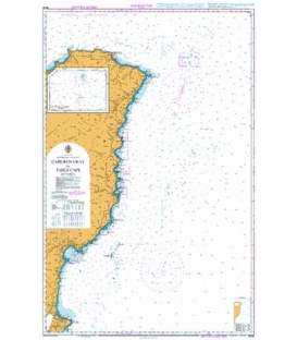 British Admiralty New Zealand Nautical Chart NZ55 Cape Runaway to Table Cape