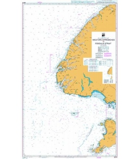 British Admiralty New Zealand Nautical Chart NZ76 Western Approaches to Foveaux Strait