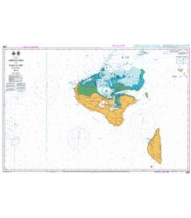 British Admiralty New Zealand Nautical Chart NZ827 Approaches to Tongatapu including 'Eua