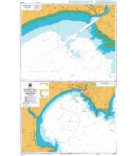 British Admiralty New Zealand Nautical Chart NZ5571 Poverty Bay and Approaches to Gisborne