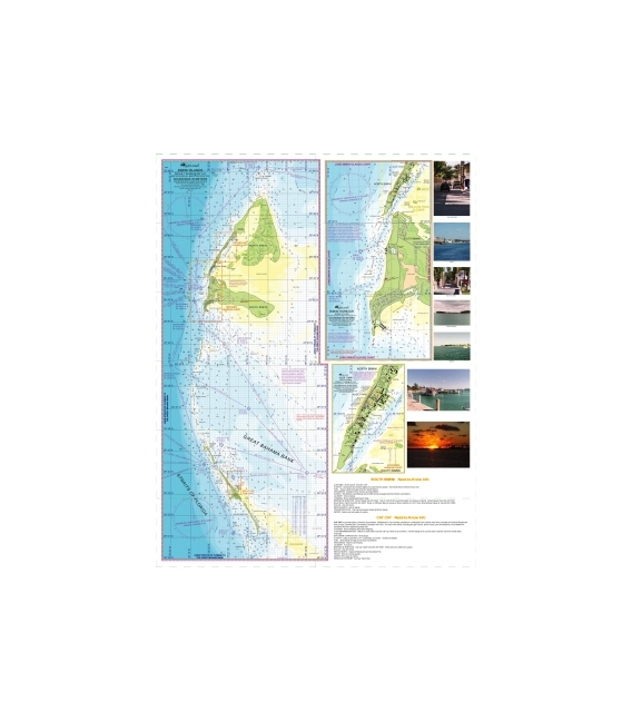 Bimini Islands and the Crossings of the Straits of Florida Chart, 1st Edition, August 2007