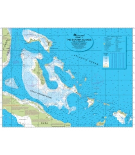 Explorer Bahamas Overview Chart, 1st Edition,  October 2010