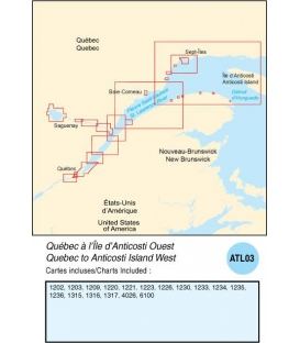 ATL03 Quebec to Anticosti Island West, 2015 Ed.