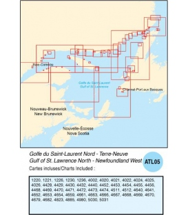 ATL05 Gulf of St. Lawrence North - Newfoundland West, 2015 Ed.
