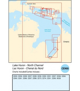 CEN05 Lake Huron - North Channel, 2015 Ed.