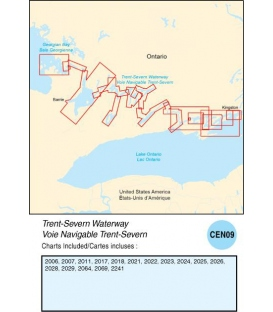 CEN09 Trent-Severn Waterway, 2015 Ed.