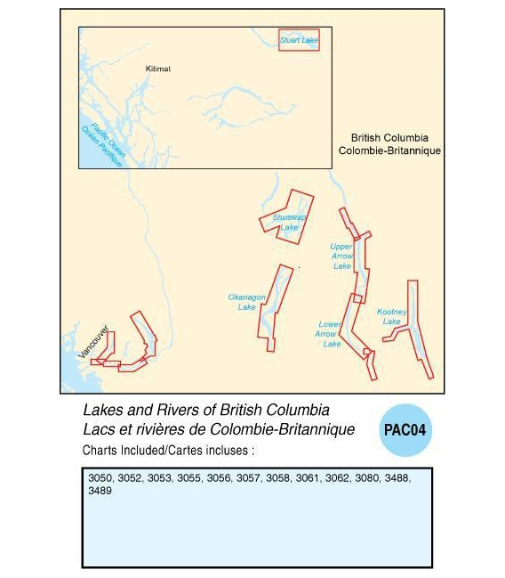 PAC04 Lakes and Rivers of British Columbia