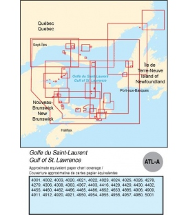 ATL-A Gulf of St. Lawrence, 2015 Ed.