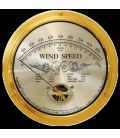 Cape Cod Wind Speed Indicator WITHOUT Peak Gust