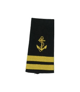 2ND MATE ANCHOR & 2 STRIPES (SOFT)