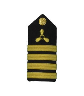 CHIEF ENGINEER PROPELLER & 4 STRIPES (HARD)