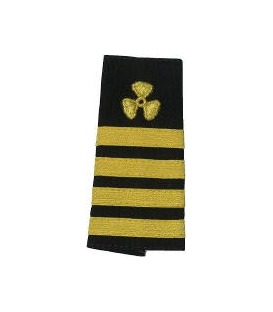 CHIEF ENGINEER PROPELLER & 4 STRIPES (SOFT)