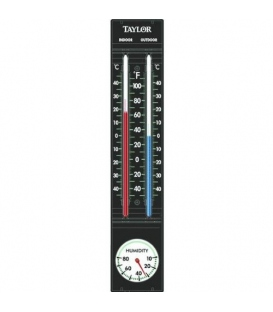 Taylor Precision 5329 Indoor And Outdoor Thermometer with Hygrometer