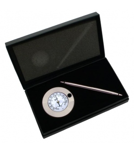 Nickel Thermometer Chart Weight & Pen Set