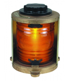 Single Lense 1174 - Yellow Towing Light (Heavy Duty Cast Bronze)