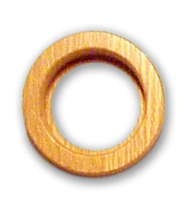 64mm (2.5 inch) Magnabrite® Round Oak Base