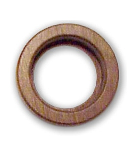 64mm (2.5 inch) Magnabrite® Round Walnut Base