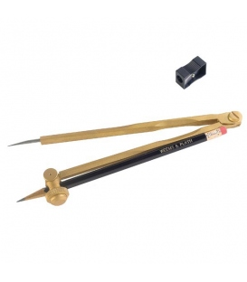 Weems & Plath 1049 Professional Brass Pencil Compass