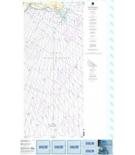 NOAA Chart 5161 Newport, Rhode Island to Bermuda (Plotting Sheet)