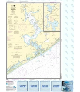 NOAA Chart 11542 New River - Jacksonville