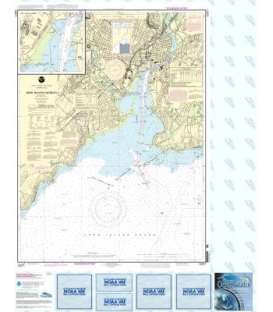 NOAA Chart 12371 New Haven Harbor - New Haven Harbor (Inset)