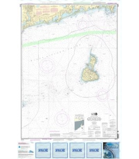 NOAA Chart 13215 Block Island Sound Point Judith to Montauk Point