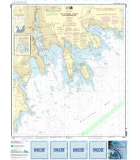 NOAA Chart 13232 New Bedford Harbor and Approaches