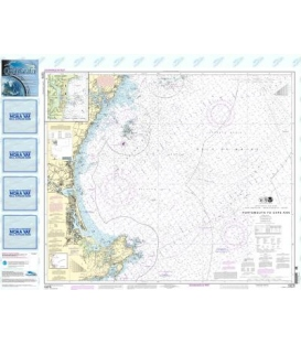 NOAA Chart 13278 Portsmouth to Cape Ann - Hampton Harbor