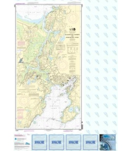 NOAA Chart 13281 Gloucester Harbor and Annisquam River