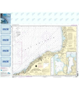 NOAA Chart 14803 Six Miles south of Stony Point to Port Bay - North Pond - Little Sodus Bay