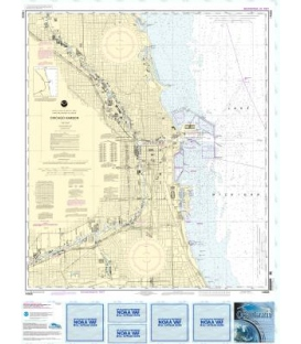 NOAA Chart 14928 Chicago Harbor