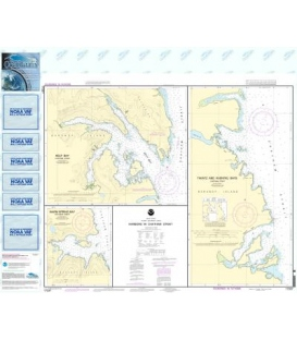 NOAA Chart 17337 Harbors in Chatham Strait Kelp Bay - Warm Spring Bay - Takatz and Kasnyku Bays