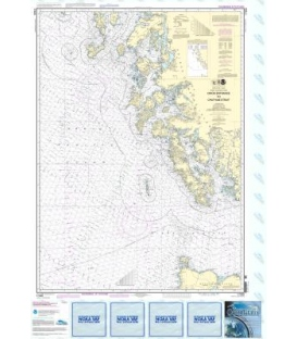 NOAA Chart 17400 Dixon Entrance to Chatham Strait