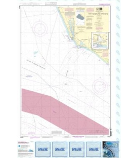 NOAA Chart 18724 Port Hueneme And Approaches - Port Hueneme