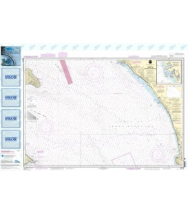 NOAA Chart 18774 Gulf of Santa Catalina - Delmar Boat Basin-Camp Pendleton