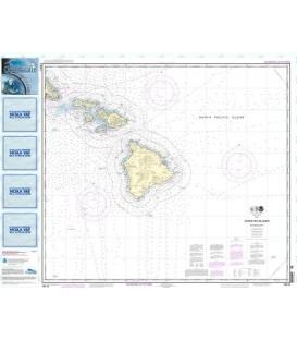 NOAA Chart 19010 Hawaiian Islands southern part