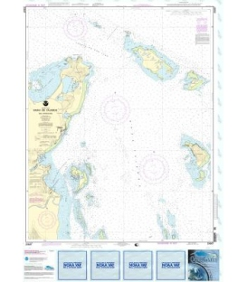 NOAA Chart 25667 Bahia de Fajardo and Approaches
