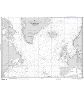 NGA Chart 121 North Atlantic Ocean (Northern Sheet)