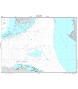 NGA Chart 11461 Straits of Florida-Southern Portion