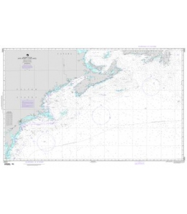 NGA Chart 14003 Cape Race to Cape Henry