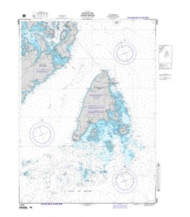 NGA Chart 14061 Grand Manan (Bay of Fundy)