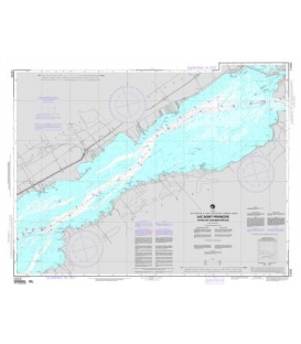 NGA Chart 14202 Lac Saint-Francois Eastern Portion (St. Lawrence Seaway)
