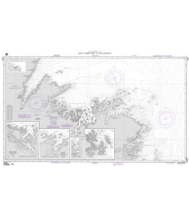 NGA Chart 14380 Great Harbor Deep to Cape Bonavista